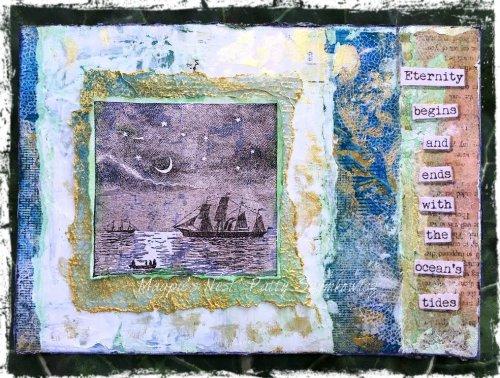 Magpie's Nest Patty Szymkowicz ocean's tides