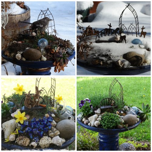 Patty Szymkowicz Fairy Garden Seasons