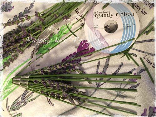 Patty Szymkowicz 2015 Lavender Wand Weaving
