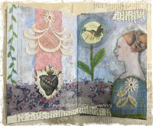Patty Szymkowicz  a day journal pages