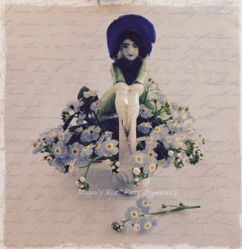 Patty Szymkowicz faded flower girl