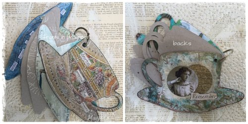Patty Szymkowicz Fronts & Backs tea cup journal