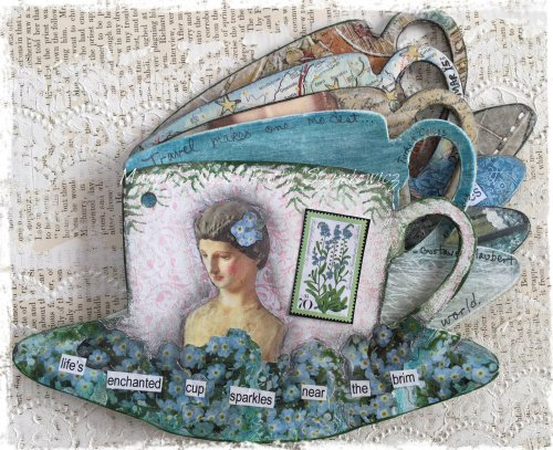 Patty Szymkowicz Tea Cup Journal