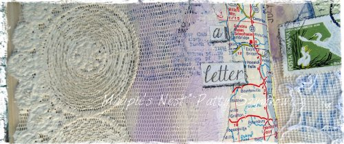 Magpie's Nest Patty Szymkowicz He Wrote Me a Letter journal pages (2)