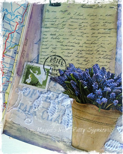 Magpie's Nest Patty Szymkowicz He Wrote Me a Letter journal pages (3)