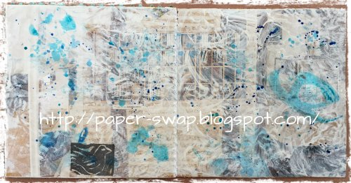 Magpie's Nest LaWendulas gesso magazine journal