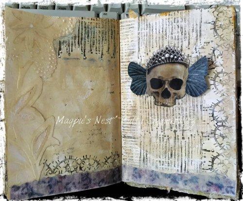 Magpie's Nest Patty Szymkowicz Forever in progress