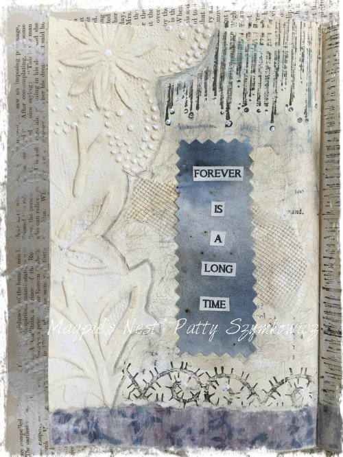 Magpie's Nest Patty Szymkowicz Forever journal pages (2)