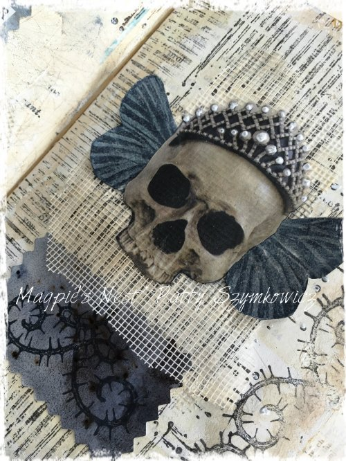 Magpie's Nest Patty Szymkowicz Forever journal pages
