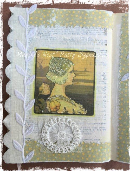 Magpie's Nest Patty Szymkowicz left page