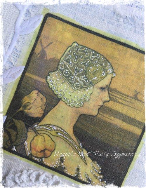 Magpie's Nest Patty Szymkowicz pen closeup