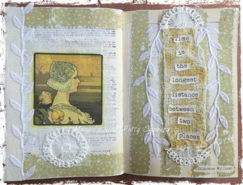 Magpie's Nest Patty Szymkowicz TIME Art Journal Pages