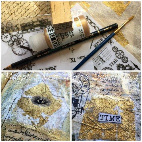 Magpie's Nest Patty Szymkowicz Time is golden