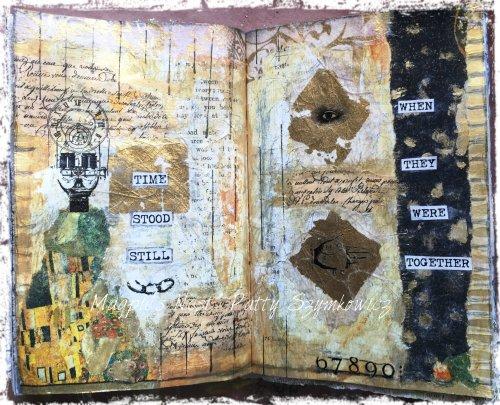 Magpie's Nest Patty Szymkowicz Time Stood Still journal pages