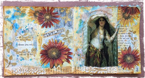 Magpie's Nest Patty Szymkowicz TIMELESS journal pages
