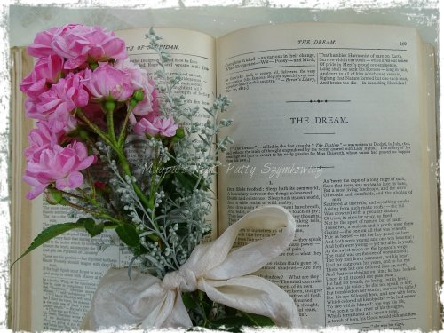 Magpie's Nest Fairy Rose and Lord Byron's Poetical Works