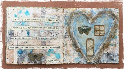 Magpie's Nest Patty Szymkowicz fenêtre journal cover