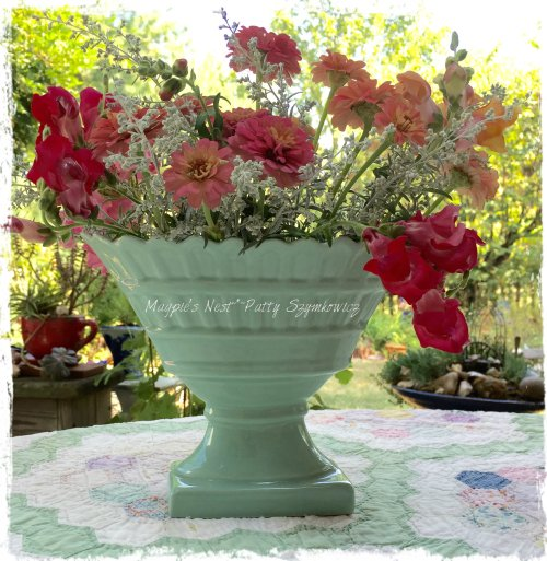 Magpie's Nest Patty Szymkowicz garden blooms