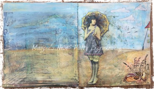 Magpie's Nest Patty Szymkowicz pages with possibilities