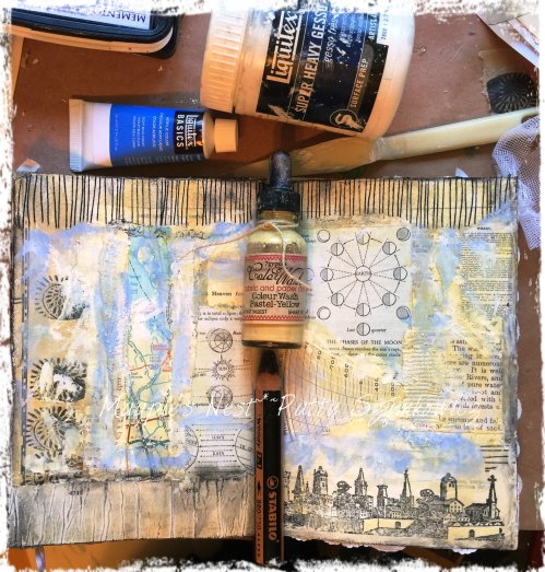 Magpie's Nest Patty Szymkowicz paint and finishing touches