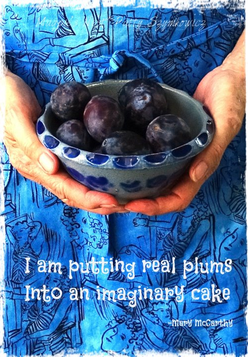 Magpie's Nest Patty Szymkowicz Real Plum quote