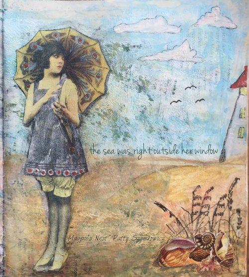 Magpie's Nest Patty Szymkowicz the sea outside her window