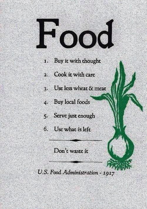 US Food Administration 1917