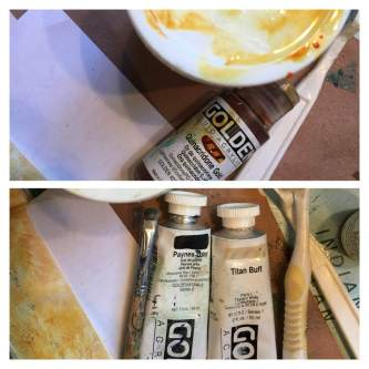Magpie's Nest Goldens Paints
