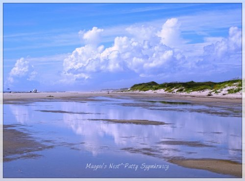 Magpie's Nest Patty Szymkowicz cloud dune reflection