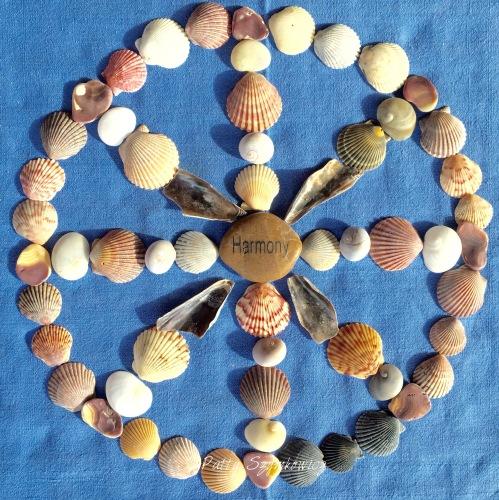 Magpie's Nest Patty Szymkowicz Harmony Ocracoke Seashell Mandal