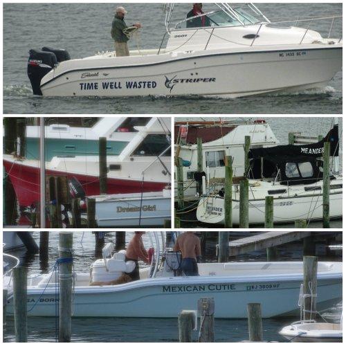 Magpie's Nest Patty Szymkowicz Ocracoke Boats