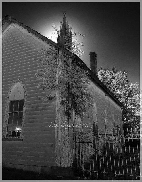 Magpie's Nest Spooky Black n White