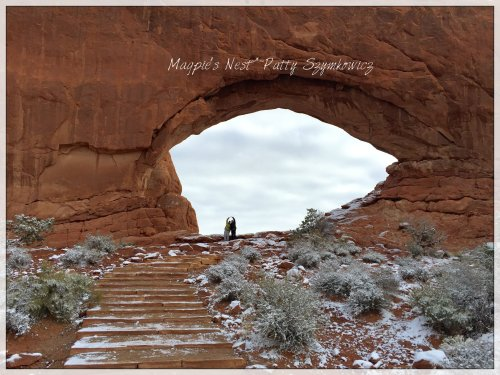 Arches Moab UT Colin and JJJ
