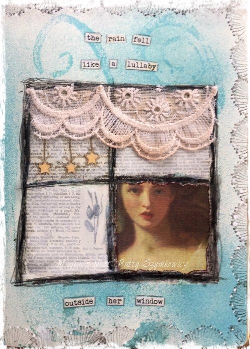 Magpie's Nest Patty Szymkowicz Rain fell like a lullaby