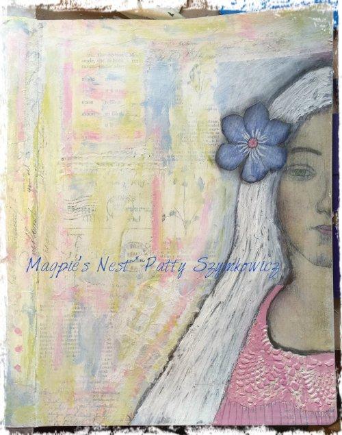 Magpie's Nest Pink Stencil Dress