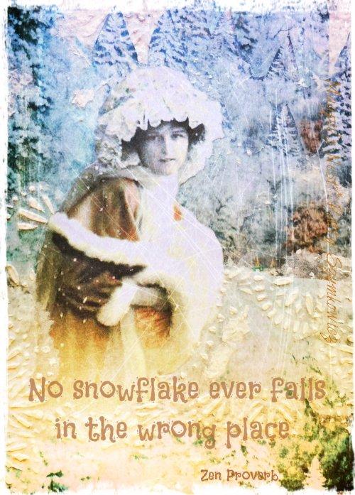 Magpie's Nest Patty Szymkowicz Digital Snowflake