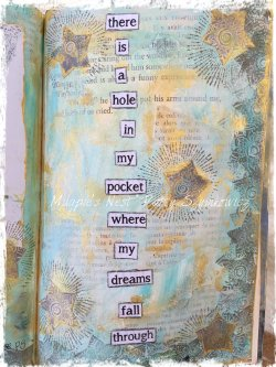 Magpie's Nest Patty Szymkowicz dreams fall quote