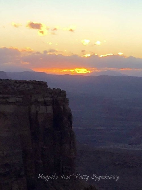 Magpie's Nest Patty Szymkowicz Island in the Sky sunset Canyonlands Utah