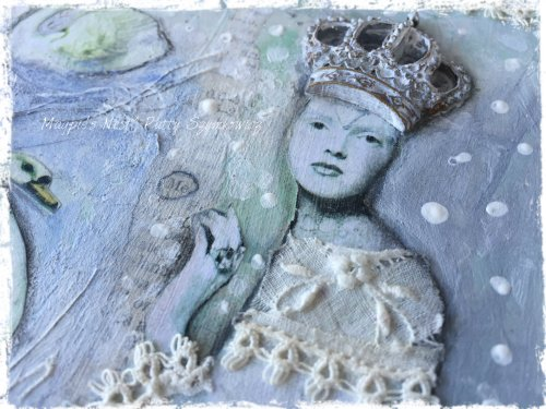 Magpie's Nest Patty Szymkowicz lace and crown