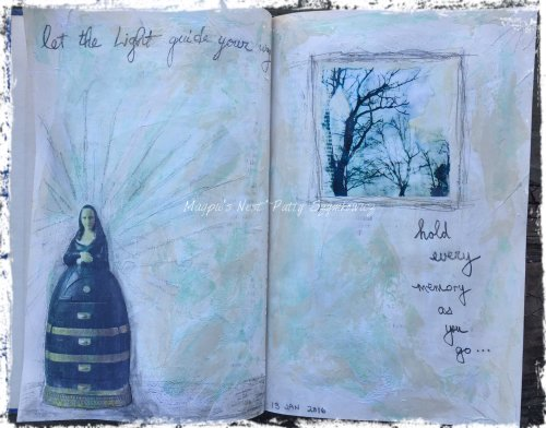 Magpie's Nest Patty Szymkowicz let the Light guide your way