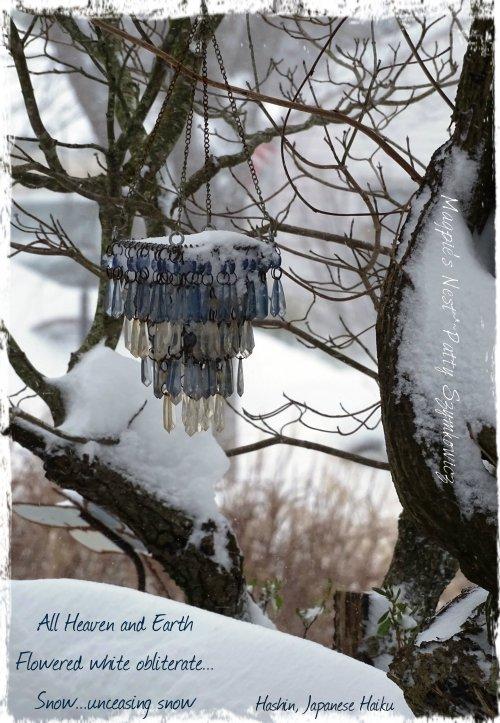 Magpie's Nest Patty Szymkowicz Snow Haiku