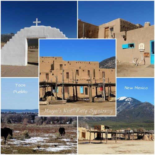 Magpie's Nest Patty Szymkowicz Taos Pueblo NM