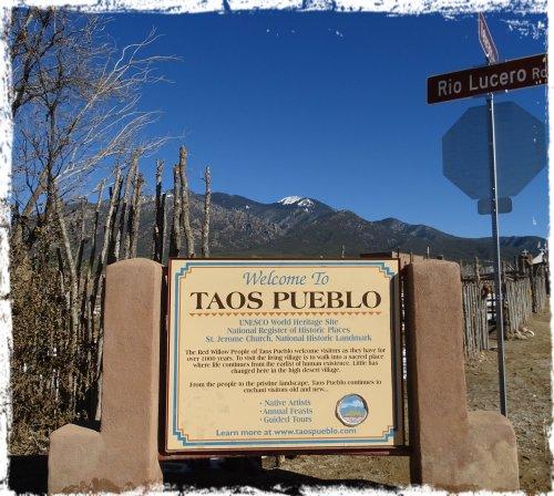 Magpie's Nest Patty Szymkowicz Taos Pueblo
