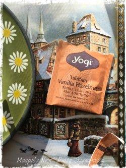 Magpie's Nest Patty Szymkowicz Yogi Tahitian Vanilla Hazelnut Tea