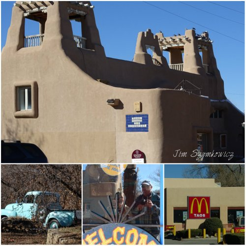 Magpie's Nest Taos collage