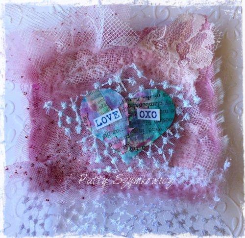 Magpie's Nest Patty Szymkowicz Felted Wool Valentine