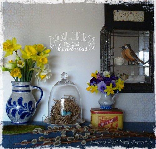 Magpie's Nest Patty Szymkowicz Pixlr Kindness sticker