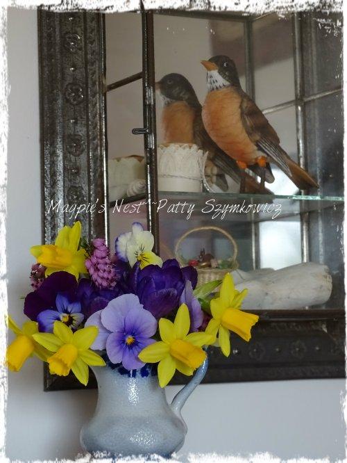 Magpie's Nest Patty Szymkowicz Robin Redbreast