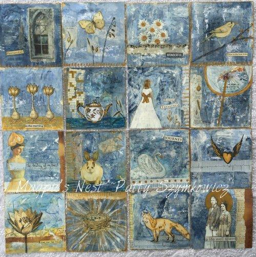 Magpie's Nest Patty Szymkowicz Sixteen 5x5s