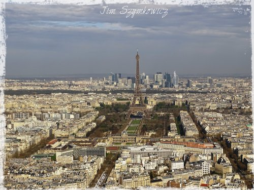 Magpie's Nest Montparnasse Tower view